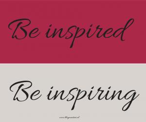 BA-B1410 be inspired be inspiring