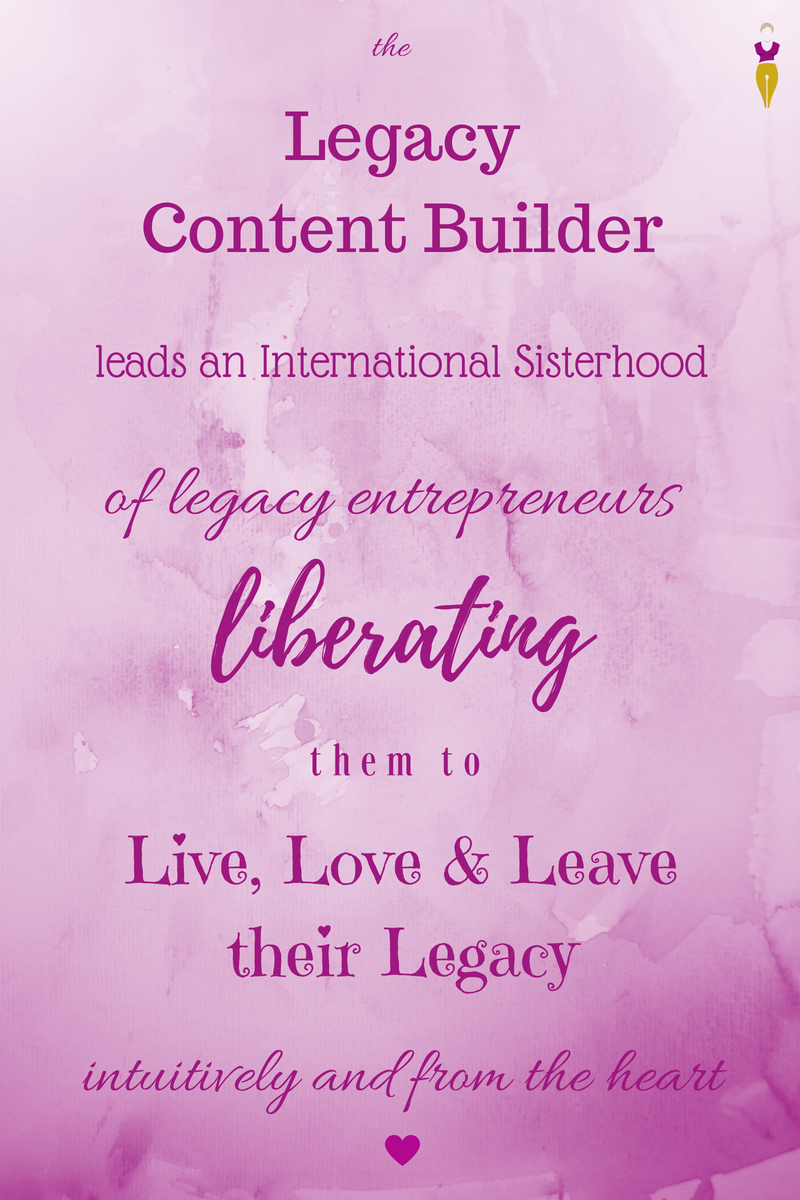Legacy Content Builder Vision